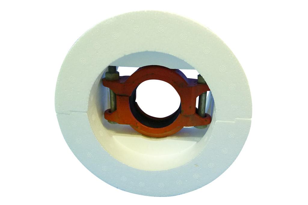 ハウジング形管継手カバー