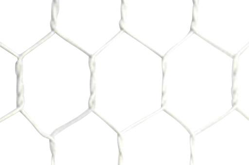ビニール被覆亀甲金網 (白)